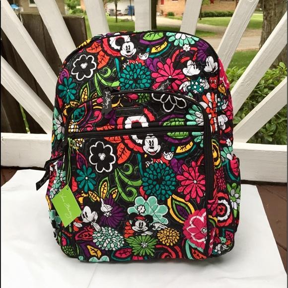 0148d202a48 Vera Bradley Disney Campus Backpack Mickey Magical